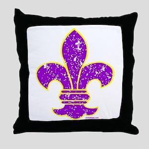 FLEUR DE LI Throw Pillow