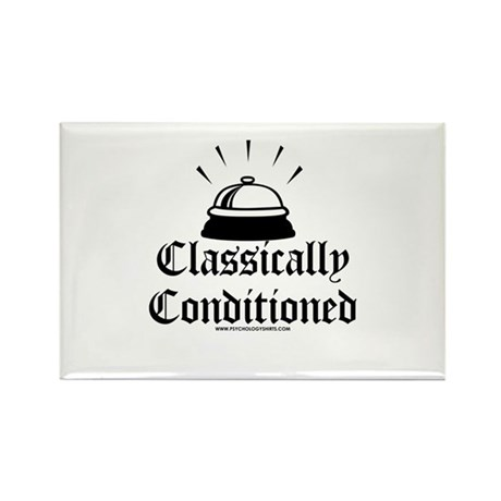Classically Conditioned Rectangle Magnet (100 pack