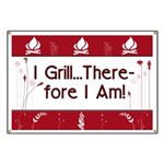 I Grill Therefore I AM Banner