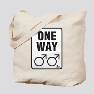 One Way (Male) Tote Bag