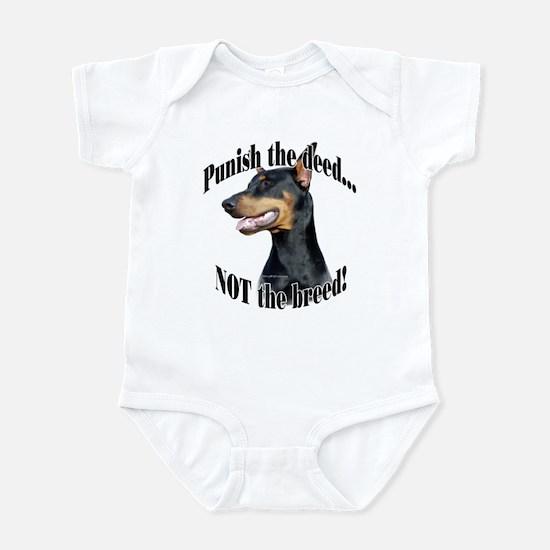 Doberman Anti-BSL 3 Infant Bodysuit