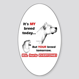 Dogo BSL2 Oval Sticker