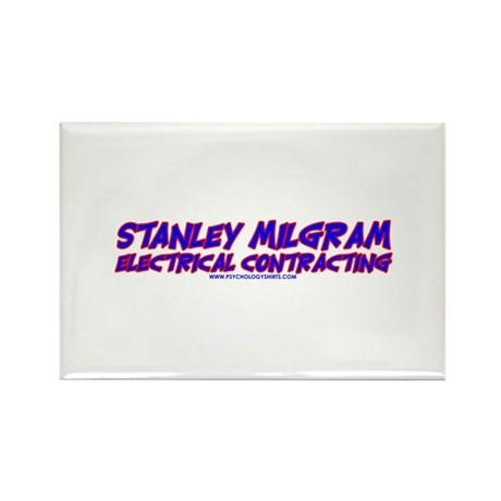Milgram Electrical Contractor Rectangle Magnet