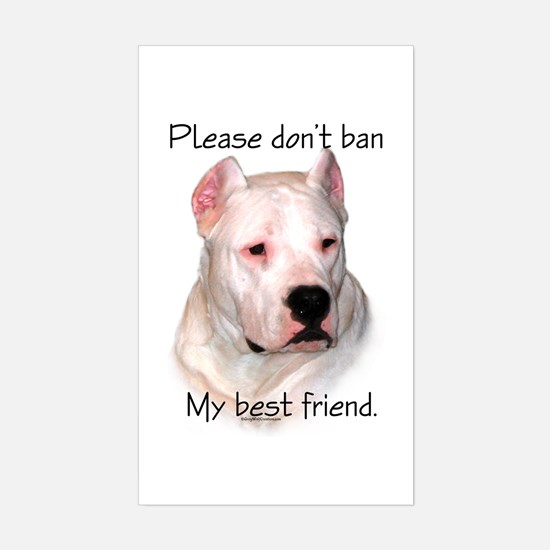 Dogo BSL1 Rectangle Decal