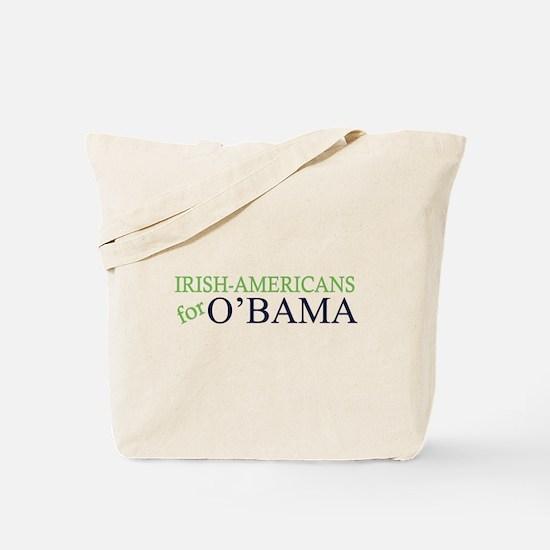Irish-Americans for O'Bama (O Tote Bag