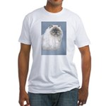 Himalayan Cat Fitted T-Shirt