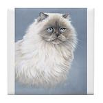 Himalayan Cat Tile Coaster