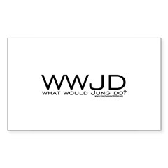 What Would Jung Do? Rectangle Decal