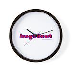 Jung @ Heart Wall Clock