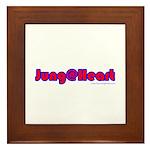 Jung @ Heart Framed Tile
