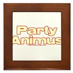 Party Animus Framed Tile
