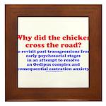 Chicken Oedipus Framed Tile