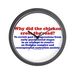 Chicken Oedipus Wall Clock
