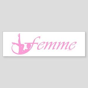 Femme 2p Bumper Sticker