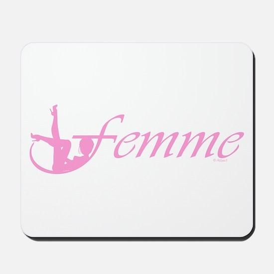 Femme 2p Mousepad
