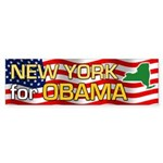 New York for Obama Bumper Sticker (10 pk)