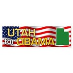 Utah for Obama Bumper Sticker (10 pk)