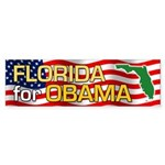 Florida for Obama Bumper Sticker (50 pk)