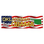 Oklahoma for Obama Bumper Sticker (50 pk)