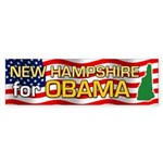 New Hampshire for Obama Bumper Sticker (10 pk)