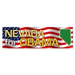 Nevada for Obama Bumper Sticker (10 pk)