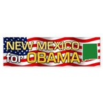 New Mexico for Obama Bumper Sticker