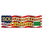 South Dakota for Obama Bumper Sticker (50 pk)