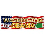 Washington for Obama Bumper Sticker (50 pk)