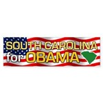 South Carolina for Obama Bumper Sticker (50 pk)