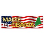 Maine for Obama Bumper Sticker (10 pk)