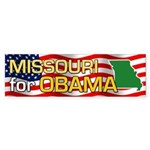 Missouri for Obama Bumper Sticker (10 pk)