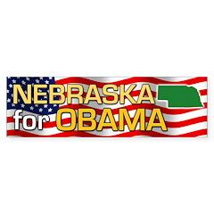 Nebraska for Obama Bumper Sticker