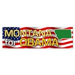 Montana for Obama Bumper Sticker