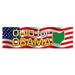 Ohio for Obama Bumper Sticker (50 pk)
