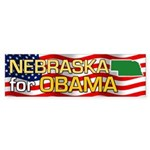 Nebraska for Obama Bumper Sticker (50 pk)