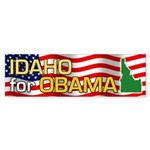 Idaho for Obama Bumper Sticker