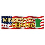 Minnesota for Obama Bumper Sticker (50 pk)