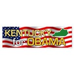Kentucky for Obama Bumper Sticker (10 pk)