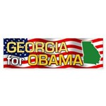 Georgia for Obama Bumper Sticker (10 pk)