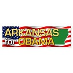Arkansas for Obama Bumper Sticker (10 pk)