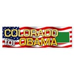 Colorado for Obama Bumper Sticker (10 pk)
