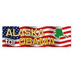 Alaska for Obama Bumper Sticker (10 pk)