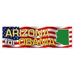 Arizona for Obama Bumper Sticker
