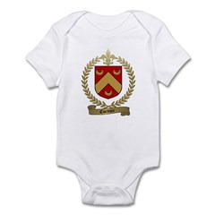 CORMIER Family Crest Infant Creeper