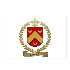 CORMIER Family Crest Postcards (Package of 8)