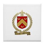 CORMIER Family Crest Tile Coaster