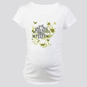 Buddha Vine - Animals Maternity T-Shirt
