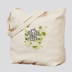 Buddha Vine - Animals Tote Bag