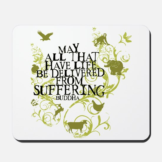 Buddha Vine - Animals Mousepad