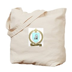 COURTEMANCHE Family Crest Tote Bag